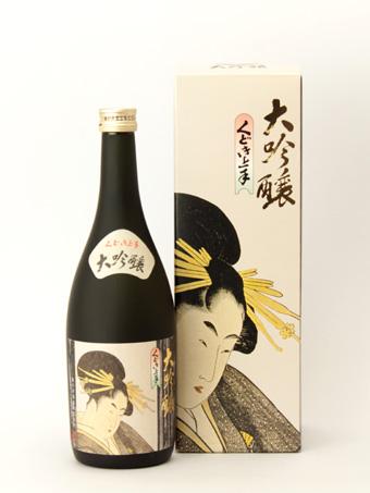 【亀の井】 大吟醸・くどき上手 720ml
