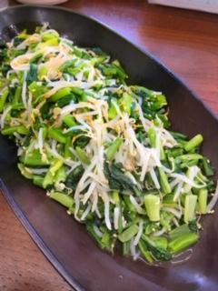 庄内産小松菜ともやしのナムル 150g