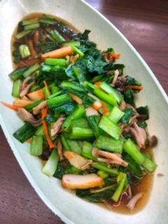 庄内産小松菜とさつま揚げの煮びたし 150g